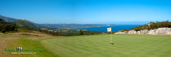 Golf Course at Berbes, Ribadesella