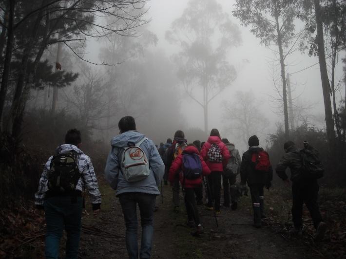 Primary students from Colegio Público Río Sella.