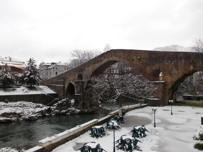 One of the Asturian Landmarks, The Roman Bridge.